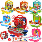 Kid Boy Girl Pretend Role Play Toy Set Kitchen Supermarket Doctor Medical Makeup