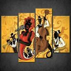 ABSTRACT JAZZ CANVAS PRINT PICTURE WALL ART ABSTRACT DESIGN