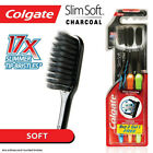 Colgate SlimSoft Charcoal Toothbrush - Slim Soft Charcoal Infused Soft Bristles
