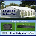 Budget PE Party Canopy - 3 Options - 30' series Tent, Short Bag, and Long Bag