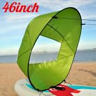 "46"" Portable PVC Downwind Wind Paddle Instant Popup Board Kayak Sail Accessories"
