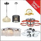 Elegant Crystal Chandelier Ceiling Light Lamp Pendant Lighting Fixture Home BPUS