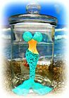 Mermaid Tropical Glass Canister