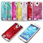 Glitter Star Quicksand Liquid Back Hard Case Cover For iphone Samsung Galaxy