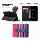 For Samsung Galaxy S8/ S8 Plus Wallet Card Holder Flip Stand Leather Case Cover