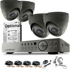 Home CCTV Security Full HD 1080P 4-CH DVR 2.4MP Camera System Night Vision Kit