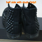 Genuine CONVERSE All-star Sneakers Sheos Monochrome-Black half-side with studs