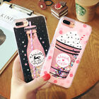 Patterned Dynamic Liquid Quicksand Case back Cover For iphone 6/6Plus/7/7/8 Plus