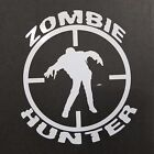 Zombie Hunter Vinyl Decal for laptop windows wall car boat