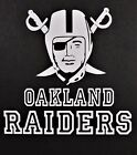 Oakland Raiders Vinyl Decal for laptop windows wall car boat (a) on eBay