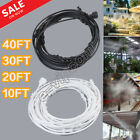 Outdoor Misting System Patio Cooling Mister Kit Air Cooler Pool 10/20/30/40FT BP
