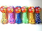 Dog Toy Vinyl Bone With Squeaker 6 Assorted Colors NEW WITH TAG!