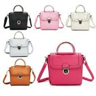Womens Girls Quality Faux Leather Shoulder Hand Bags RRP £39.99 Stylish Gift