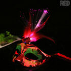 LED Light Up Flashing Feather Mask Masquerade Ball Fancy Dress Party Decor Gifts