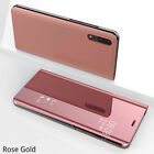 LUXURY MIRROR CLEAR VIEW WINDOW FLIP STAND LEATHER CASE COVER FOR SAMSUNG GALAXY