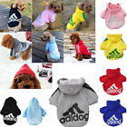 Clothing Shoes - Pet Dog Adidog Puppy Sweater Hoodie Coat For Warm Costume Apparel New