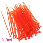 Foldable Plastic Ribbon Nylon Bicycle Cable Ties Wire Harness Self-Locking 200pc