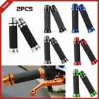 """Motorcycle CNC Aluminum Rubber Gel Hand Grips for 7/8"""" Handle Bar Bike Bicycle K"""