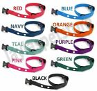 """Sparky PetCo 3/4"""" Heavy Duty Nylon 2 Hole 1.25"""" Dog Replacement Strap- 10 Colors"""