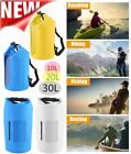 10L 20L 30L Waterproof Dry Bag Roll Top Dry Gear Bag for Kayak, Fishing NEW BP