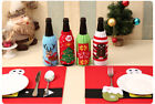 UK stock Knitted Sweater Xmas gift wine bottle wrap cover party house decoration