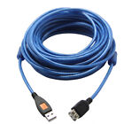 High Speed Long USB 2.0 A-A Cable M/F Extension with Ferrite Core , 25FT / 30ft