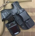 MIE Productions IWB/AIWB Kydex Holster with Mag Carrier