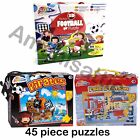 Grafix My First Football 45 Piece Jigsaw Puzzle Pirate and Fire Station puzzle