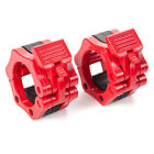 """Olympic 2"""" Weight Bar Dumbbell Or Barbell Bar Collars Locking Spin Clamps 50mm"""