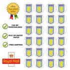 24 x Edible Aston Villa FC Edible Wafer / Icing Cup Cake Toppers Happy Birthday