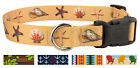 Country Brook Design® Deluxe Dog Collar - Summer Breeze Collection