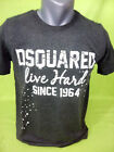 Final Sale Dsquared2 BNWT Made in Italy Grey T-shirt Size S M L XL XXL