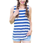 WOmen fashion and   sexy Holiday Patriotic Sleeveless Red White Striped Shirt