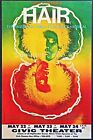 60's 70's Concert Poster Canvas Hair Vintage Musical Psychedelic- FINE ART PRINT