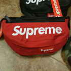 100% AUTHENTIC Supreme Box Logo Shoulder Waist Bag Black Red Yellow Green Camo