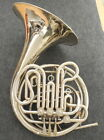 Holton Farkas Nickel Silver H179 F Bb Double French Horn.