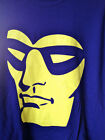 The PHANTOM t-shirt  yellow face on purple tee licensed  NEW various sizes