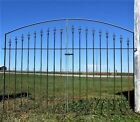 Center Divide Gate 6'w x 4't Wrought Iron Entry Gate