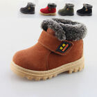 Plus Thick Snow Boots Cotton Martin Shoes Winter Casual Boys Kids Girls Baby Pop