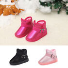 Winter Warm Cotton Shoes Led Light Up Thicken Toddler Kids Grils Boys Snow Boots