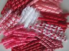 Korker Ribbon~100 precut pieces~heat sealed~VALENTINE~you pick the size