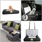 Smooth Washable Pet Cushion Car Seat Belt Carrier Folding for Dog Cat Puppy Home