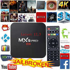MXQ Pro S905X 64-bit Android 6.0 8GB HD 4K 3D Smart TV Box latest 17.3 WIFI HDIM