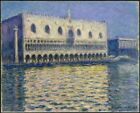 Doges Palace Le Palais Ducal Claude Monet 1908 Art Photo/Poster Repro Print