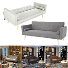 Panana Fabric Sofa Bed 3 Seater Couch Padded Sofabed Suite Luxury Furniture