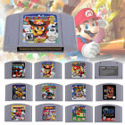 For Nintendo 64 N64 Mario Kart 64 Video Game Cartridge Cosmetic Wear Xmas Gift