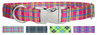 Country Brook Design® Premium Dog Collar - Plaid and Argyle Collection