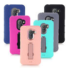 Shockproof Hybrid Impact Dual Layered Case Cover For Alcatel A30 Fierce 2017