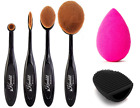 Kanddit® 4-10 Professional Oval Beauty Shape Brushes Makeup Foundation Brush Set
