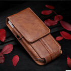 Universal Luxury PU Leather Mobile Phone Waist Bag Clip Belt Pouch Cover Case
